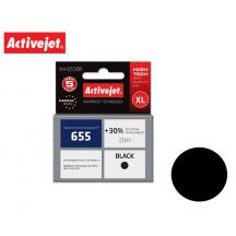 ACTIVEJET INK ΓΙΑ HP #655 BLACK CZ109AE AH-655BR 20ml (Α)