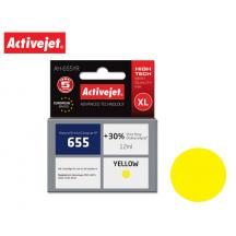 ACTIVEJET INK ΓΙΑ HP #655 YELLOW CZ112AE AH-655YR 12ml (Α)