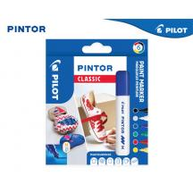 PILOT ΜΑΡΚΑΔΟΡΟΙ PAINT PINTOR MEDIUM CLASSIC ΣΕΤ 6Τ.