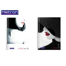 METRON ΤΕΤΡΑΔΙΟ Α4  105Φ. 3Θ. 1ΣΠ. 10Τ. UV COLOUR Y LIFE