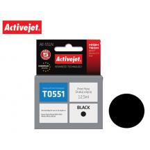 ACTIVEJET INK ΓΙΑ EPSON #T0551 BLACK AE-551N 12.5ml (Ν)