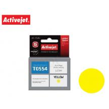 ACTIVEJET INK ΓΙΑ EPSON #T0554 YELLOW AE-554N 12.5ml (Ν)
