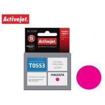 ACTIVEJET INK ΓΙΑ EPSON #T0553 MAGENTA AE-553N 12.5ml (Ν)