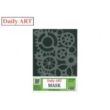 DAILY ART ΣΤΕΝΣΙΛ 140x200 MASK GEARS