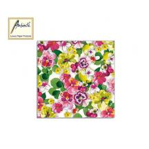 AMBIENTE ΧΑΡΤΟΠΕΤΣΕΤΕΣ 33Χ33cm Pansy Yellow 20Τ.