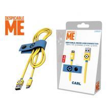 TRIBE ΚΑΛΩΔΙΟ USB MICRO 120cm DESPICABLE ME CARL