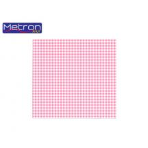 METRON ART ΧΑΡΤΟΝΙ 50x70cm 250gr ΔΙΠΛΗΣ ΟΨΗΣ ΚΑΡΩ ΡΟΖ 12Φ.