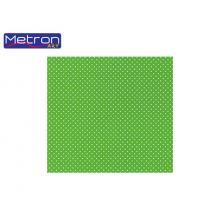METRON ART ΧΑΡΤΟΝΙ 50x70cm 250gr ΔΙΠΛ.ΟΨ. ΠΟΥΑ ΠΡΑΣΙΝΟ 12Φ.
