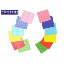 METRON ART ΧΑΡΤΟΝΙ 50x70cm 250gr ΔΙΠΛ.ΟΨ. ΑΣΟΡΤΙ 12Φ.
