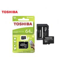 TOSHIBA ΜΝΗΜΗ MICRO SDHC ΜΕ ΑΝΤΑΠΤΟΡΑ SD 64GB CLASS10