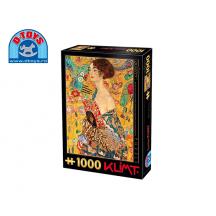 D-TOYS ΠΑΖΛ 1000Τ.68x47cm KLIMT LADY WITH A FAN