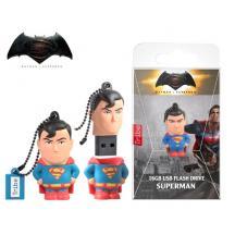 TRIBE FLASH DRIVE USB 3D DC SUPERMAN 16GB