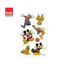 BSB ΑΥΤΟΚΟΛΛΗΤΑ ΑΝΑΓΛΥΦΑ 7,8x12,5cm MICKEY AND FRIENDS 2 (1 ΦΥΛ.) LICENSED