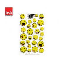 BSB ΑΥΤΟΚΟΛΛΗΤΑ ΑΝΑΓΛΥΦΑ 7,8x12,5cm SMILEY (1 ΦΥΛ.) LICENSED