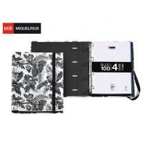 MIQUELRIUS ΝΤΟΣΙΕ ΧΑΡΤΙΝΟ 4 ΚΡΙΚΟΙ Α4 35mm ΛΑΣΤΙΧΟ-ΜΠΛΟΚ MR BLACK & WHITE