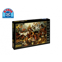 D-TOYS ΠΑΖΛ 2000Τ.96x68cm BRUEGHEL THE FALL OF REBEL ANGELS