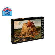 D-TOYS ΠΑΖΛ 2000Τ.96x68cm BRUEGHEL THE TOWER OF BABEL