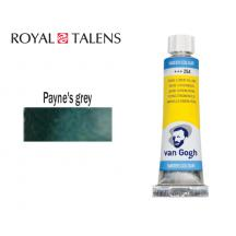 ROYAL TALENS ΧΡΩΜΑ ΑΚΟΥΑΡΕΛΑΣ 10ml VAN GOGH PAYNE'S GREY 3Σ.