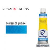 ROYAL TALENS ΧΡΩΜΑ ΑΚΟΥΑΡΕΛΑΣ 10ml VAN GOGH CERULEAN BLUE PHT 3Σ.