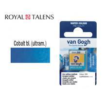 ROYAL TALENS ΧΡΩΜΑ ΑΚΟΥΑΡΕΛΑΣ ΚΥΒΟΣ VAN GOGH COB.BLUE ULTR. 2Τ.