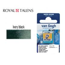 ROYAL TALENS ΧΡΩΜΑ ΑΚΟΥΑΡΕΛΑΣ ΚΥΒΟΣ VAN GOGH IVORY BLACK 2Τ.