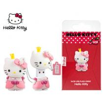 TRIBE FLASH DRIVE USB 3D HELLO KITTY PRINCESS 16GB