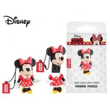 TRIBE FLASH DRIVE USB 3D MINNIE MOUSE 8GB