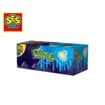 SES SLIME 2 ΧΡΩΜΑΤΑ. 2x120gr MOONSTONE GLOW IN THE DARK
