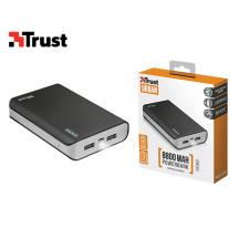 TRUST POWERBANK 2 ΘΗΡΩΝ 8800 mAh PRIMO