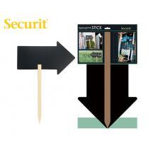 SECURIT ΜΑΥΡΟΠΙΝΑΚΑΣ ΥΓΡΗΣ ΚΙΜΩΛΙΑΣ 67x49cm ΒΕΛΟΣ ΞΥΛΙΝΗ ΒΑΣΗ