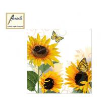 AMBIENTE ΧΑΡΤΟΠΕΤΣΕΤΕΣ 33x33cm SUNNY BUTTERFLY 20Τ.