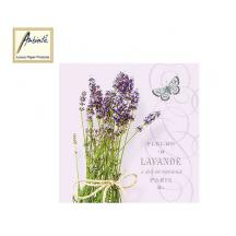 AMBIENTE ΧΑΡΤΟΠΕΤΣΕΤΕΣ 33x33cm BUNCH OF LAVENDER 20Τ.