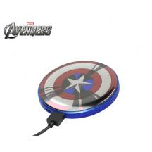 TRIBE POWER BANK STRIPE 4.000 mAh MARVEL CAPTAIN AMERICA