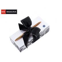 MIQUELRIUS ΣΗΜΕΙΩΜΑΤΑΡΙΟ 400Φ 7,2x16,5x5cm & ΣΤΥΛΟ GOLDEN BLACK