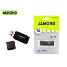 ALMOND FLASH DRIVE USB 16GB PRIME ΜΑΥΡΟ