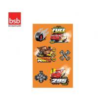 BSB ΑΥΤΟΚΟΛΛΗΤΑ BLISTER 3Φ. 78x125mm CARS
