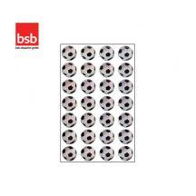 BSB ΑΥΤΟΚΟΛΛΗΤΑ BLISTER 1Φ. 78x125mm GLITTER ΜΠΑΛΕΣ