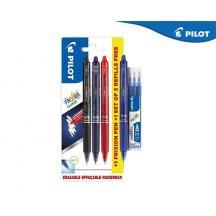 PILOT FRIXION CLICKER 0.7mm PROMO BLISTER 3+1 ΔΩΡΟ & ΔΩΡΟ 3Τ. ΑΝΤΑΛΛΑΚΤΙΚΟ ΜΠΛΕ