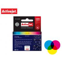 ACTIVEJET INK ΓΙΑ HP #343XL TRICOLOR AH-766 21ml (Α)