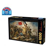 D-TOYS ΠΑΖΛ 1000Τ 68x47cm EUGENE DELACROIX LIBERTY LEADING THE PEOPLE