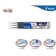 PILOT ΑΝΤΑΛΛΑΚΤΙΚΟ FRIXION POINT 0.5mm BLUE BLACK 3Τ. 12 ΣΕΤ