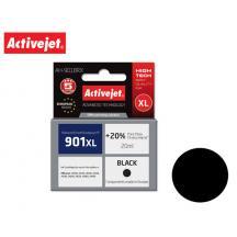 ACTIVEJET INK ΓΙΑ HP #901XL BLACK CC654 ΑΗ-C54 20ml (Α)