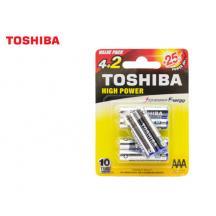 TOSHIBA ΜΠΑΤΑΡΙΕΣ LR 03 (AAA) ΑΛΚΑΛΙΚΕΣ 4+2 Τ.
