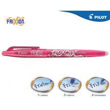 PILOT ΣΤΥΛΟ FRIXION BALL 0.7mm ΡΟΖ 12Τ.