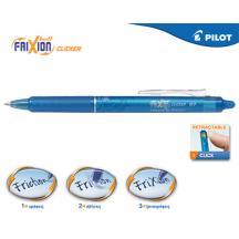 PILOT ΣΤΥΛΟ FRIXION CLICKER 0.7mm ΓΑΛΑΖΙΟ 12Τ.