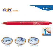 PILOT ΣΤΥΛΟ FRIXION CLICKER 0.7mm ΚΟΚΚΙΝΟ 12Τ.