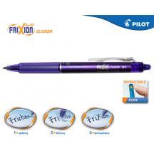 PILOT ΣΤΥΛΟ FRIXION CLICKER 0.7mm ΜΩΒ 12Τ.