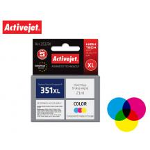 ACTIVEJET INK ΓΙΑ HP #351XL TRICOLOR CB338 ΑΗ-E38 21ml (Α)