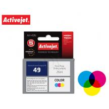ACTIVEJET INK ΓΙΑ HP #49 TRICOLOR 51649A AH-49R 26ml (Α)