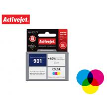 ACTIVEJET INK ΓΙΑ HP #901XL TRICOLOR CC656 ΑΗ-C56 21ml (Α)